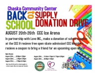 Back to School Supply Donation Drive