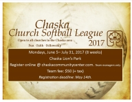 Chaska Church Softball League