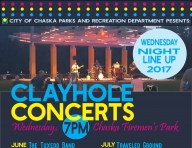 Clayhole Concerts: Wednesday Night Line Up at Firemen's Park