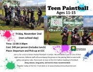 Teen Paintball