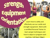 Strength Equipment Orientation