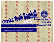 Chaska Youth Baseball & T-Ball