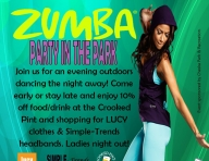Zumba Party in the Park