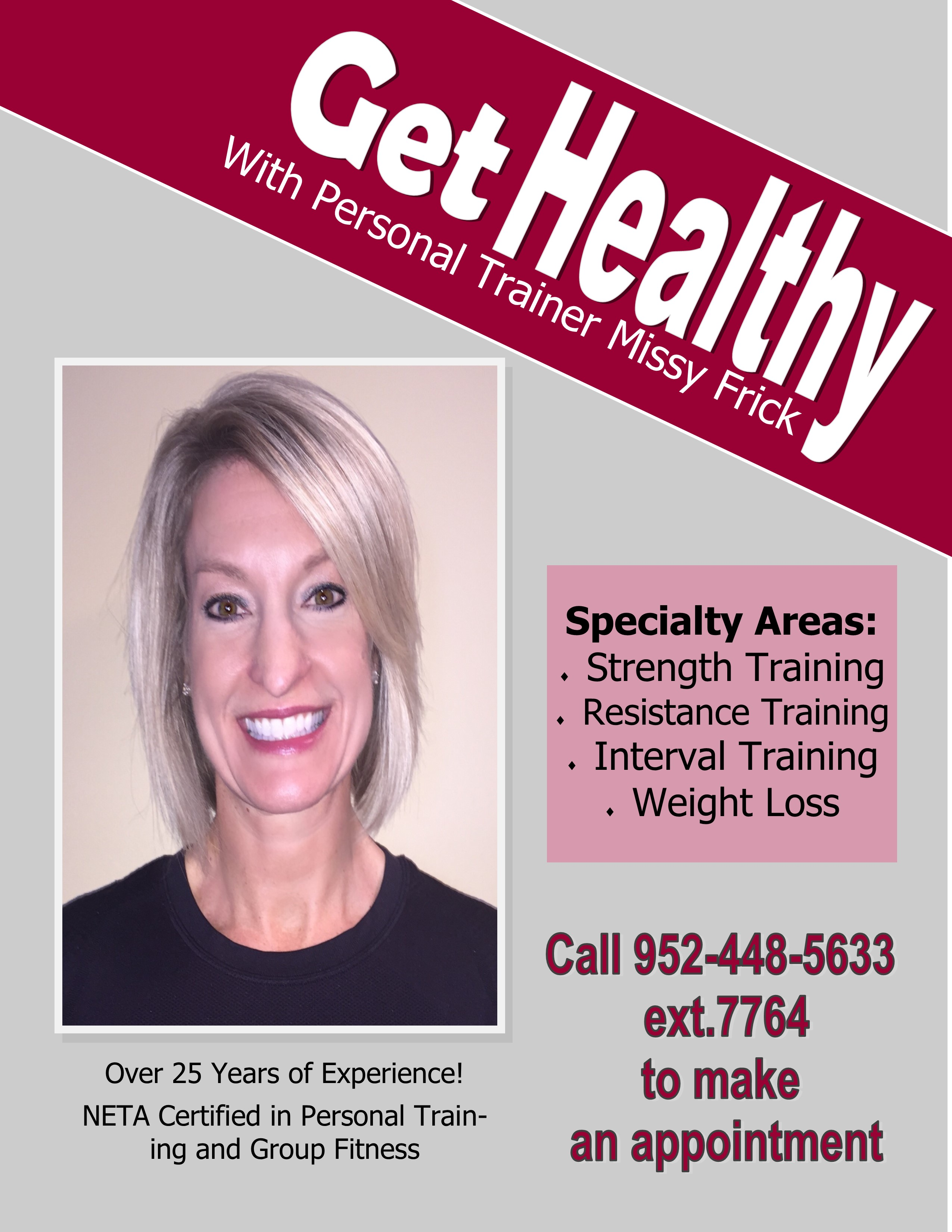 Personal trainers chaska parks and recreation department and general operation of the cardio equipment at the chaska community center by appointment call a personal trainer from above to make an appointment 1betcityfo Image collections
